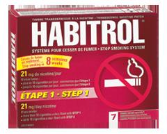 Image du produit Habitrol - Habitrol étape 1, 7 unités