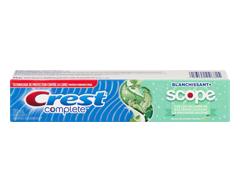 Image du produit Crest - Complete blanchissant avec Scope dentrifrice à rayures, 130 ml, menthe fraîcheur