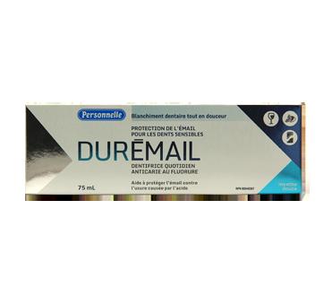 Durémail, dentifrice quotidien anticarie au fluorure, 75 ml, Menthe douce