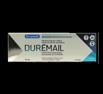 Image 2 du produit Personnelle - Durémail, dentifrice quotidien anticarie au fluorure, 75 ml, Menthe douce