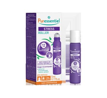 Image du produit Puressentiel - Stress roller aux 12 huiles essentielles, 5 ml