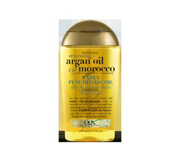 Huile d'argan du Maroc, huile régénérante extra pénétrante , 100 ml