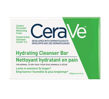 Image du produit CeraVe - Nettoyant hydratant en pain, 128 g