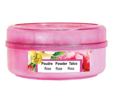 Spring Fresh Poudre parfumée pour le corps, 140 g, rose