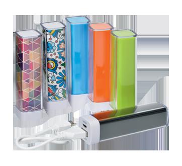 Chargeur portatif de 2600 mAh/9,62 Wh., 1 unité