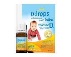 Image du produit Ddrops - Ddrops pour bébé 400 IU, 2,5 ml