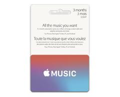 Image du produit Apple - Apple Music carte-cadeau, 1 unité