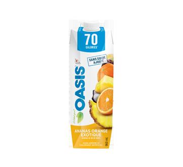 Jus ananas et orange exotique 70 calories, 960 ml