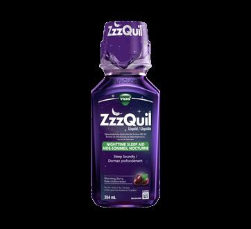 Image du produit Vicks - ZzzQuil aide-sommeil nocturne liquide, 354 ml