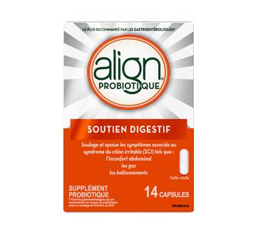 Image 2 du produit Align - Supplément probiotique quotidien pour la santé digestive, 14 unités
