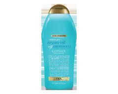 Image du produit OGX - Huile d'argan du Maroc lotion corporelle hydratante et réparatrice, 577 ml