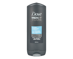 Image du produit Dove Men + Care - Gel douche corps et visage, 300 mL, le propre du confort