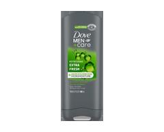 Image du produit Dove Men + Care - Fraîcheur Ultra gel douche corps + visage  micro moisture, 400 ml
