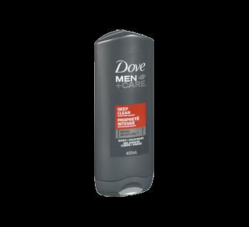 Image 2 du produit Dove Men + Care - Propreté Intense gel douche corps + visage , 400 ml