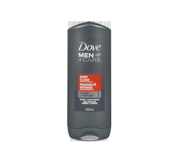 Image 3 du produit Dove Men + Care - Propreté Intense gel douche corps + visage , 400 ml
