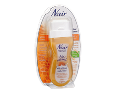 Image du produit Nair - Au Naturel, cire roll-on, 100 ml, lait et miel