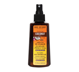 Hydrating Coconut Oil & Shea Butter huile coiffante à sec, 120 ml