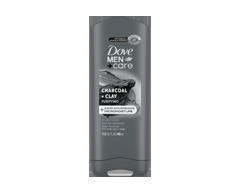 Image du produit Dove Men + Care - Charbon argile gel douche corps + visage, 400 ml