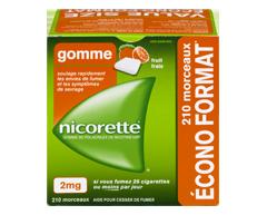 Image du produit Nicorette - Gomme à la nicotine, 210 units, 2 mg, fruit frais