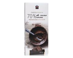 Image du produit PJC Délices - Chocolat noir fin 70 % de cacao, 100 g