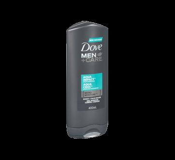 Image 2 du produit Dove Men + Care - Gel douche corps et visage, 300 ml, aqua choc