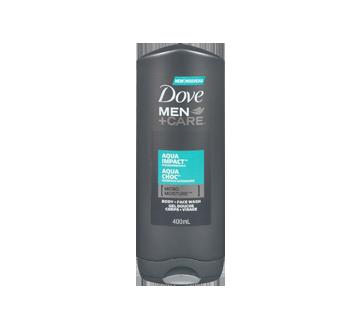 Image 3 du produit Dove Men + Care - Gel douche corps et visage, 300 ml, aqua choc