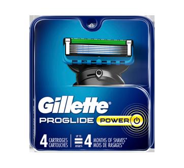 Fusion5 ProGlide lames de rasoir pour homme, 4 unités