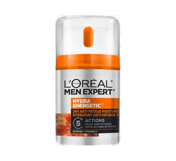 Men Expert Hydra Energetic anti-fatigue hydratant 24H, 48 ml, guarana + vitamine C