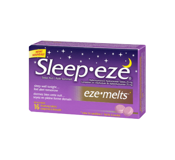 Image 1 du produit Sleep-Eze - Sleep-Eze eze-melts, 16 unités