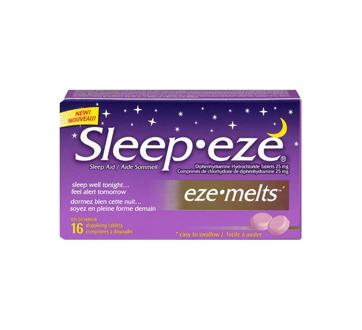 Image 3 du produit Sleep-Eze - Sleep-Eze eze-melts, 16 unités