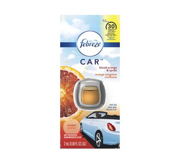 Car assainisseur d'air pour voiture, 2 ml, orange sanguine vivifiante