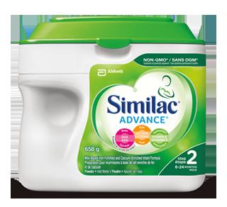 Similac Advance Étape 2 préparation pour nourrissons, 658 g