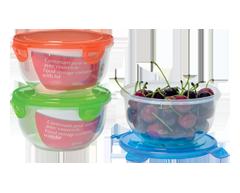 Image du produit Home Exclusives - Contenant pour aliments avec couvercle, 820 ml