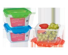 Image du produit Home Exclusives - Contenant pour aliments avec couvercle, 850 ml