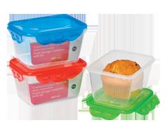 Image du produit Home Exclusives - Contenant pour aliments avec couvercle, 800 ml