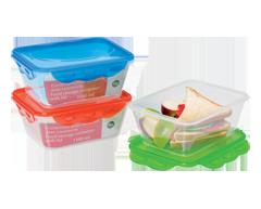 Image du produit Home Exclusives - Contenant pour aliments avec couvercle, 1100 ml