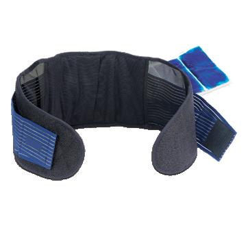 Image du produit ObusForme - Ceinture pour le dos avec compresse de gel chaud/froid, 1 unité