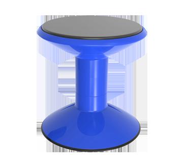 Tabouret basculant base antidérapante à hauteur réglable, 1 unité, bleu