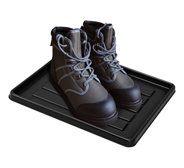 Image 2 du produit Storex - Plateau pour chaussures et bottes pour casier, 1 unité, noir