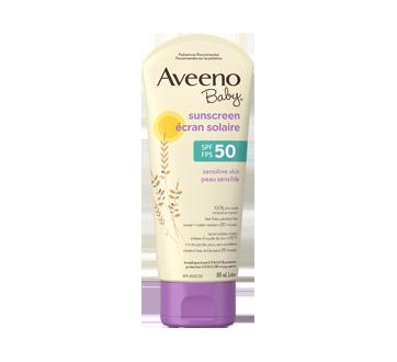 Aveeno Baby écran solaire FPS 50, peau sensible, 88 ml