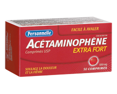 Image du produit Personnelle - Acétaminophène 500 mg, 50 unités