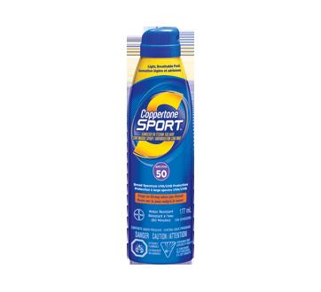 Sport écran solaire vaporisation continue FPS 50, 177 ml