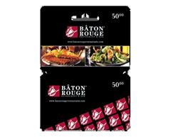 Image du produit Incomm - Carte-cadeau Bâton Rouge de 50 $