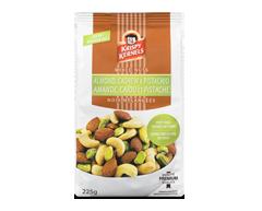 Image du produit Aliments Krispy Kernels Inc. - Amande, noix de cajou et pistache, 225 g