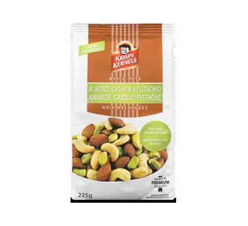 Amande, noix de cajou et pistache, 225 g