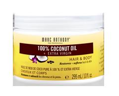 Image du produit Marc Anthony - Huile de Noix de Coco Pure à 100 % et Extra Vierge soin pour le corps et les cheveux, 295 ml