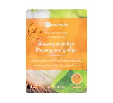 Masque en tissu anti-âge, 25 ml