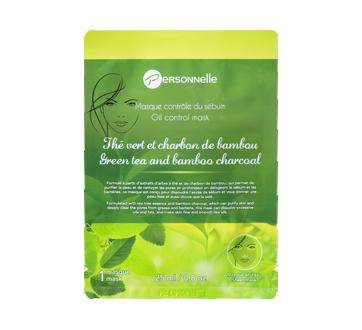 Masque en tissu contrôle du sébum, 25 ml