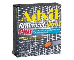 Image du produit Advil - Advil Rhume et Sinus Plus, 20 unités