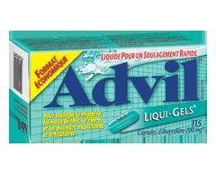 Image du produit Advil - Advil Liqui-Gels, 115 capsules